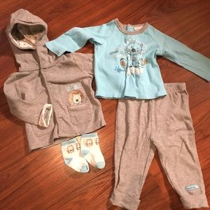 Absorba 12M 5 pc boys outfit